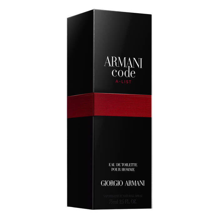 Armani Code A List Mens Aftershave Limited Edition Armani Beauty Uk