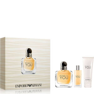 Emporio Armani Because It's You 100ml Gift Set