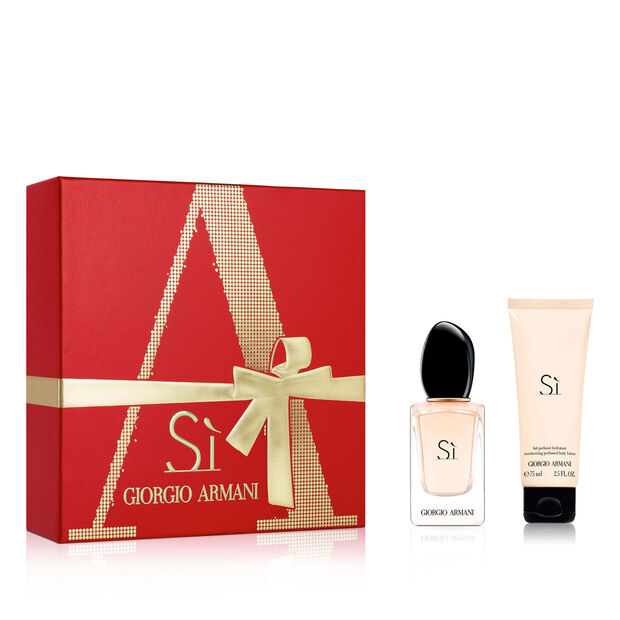 Sì Eau De Parfum 30ml Christmas Gift Set For Her