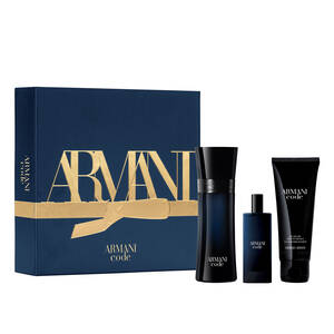ARMANI CODE HOMME EAU DE TOILETTE 50ML MEN'S AFTERSHAVE GIFT SET