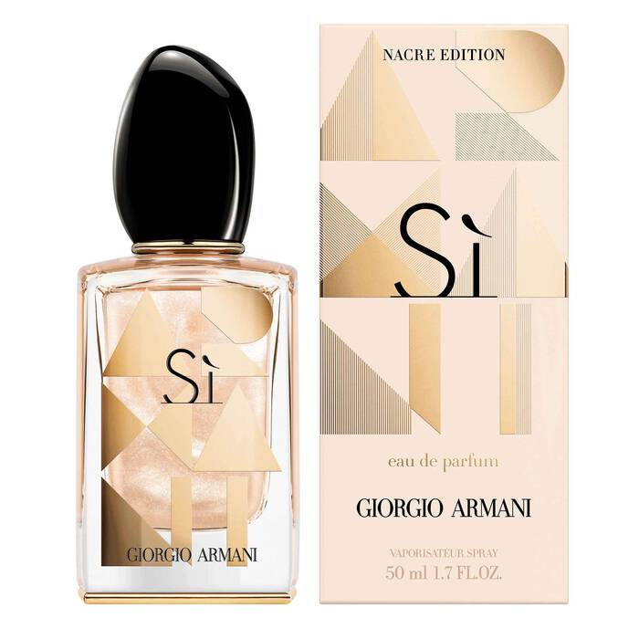 Sì Nacre Limited Edition Perfume For Women Armani Beauty Uk