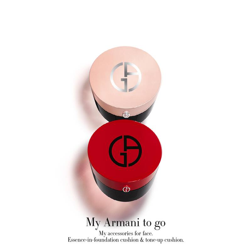 Armani Beauty - My Armani To Go Essence In Foundation Tone-Up Cushion - 5