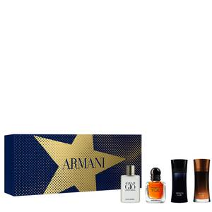 Armani Men's Christmas Miniature Gift Set