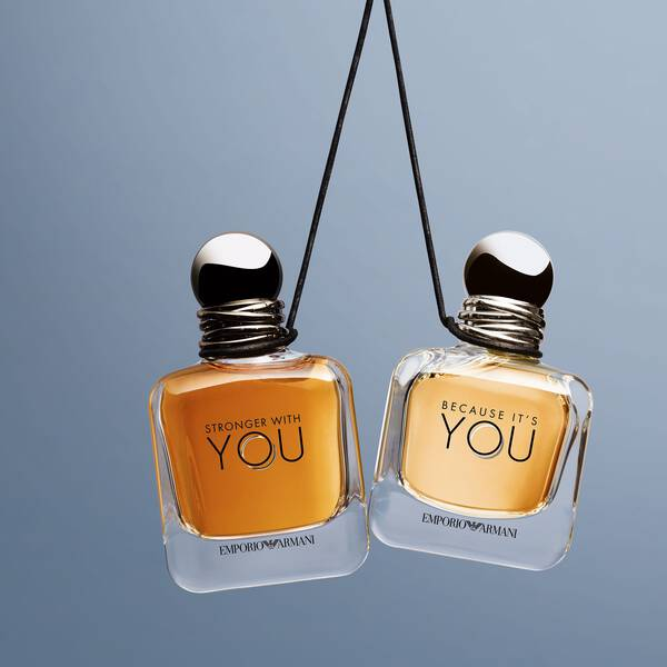 Emporio Armani Because Its You Perfume For Women Armani Beauty Uk