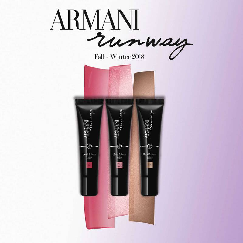 Armani Beauty - Limited Edition Runway FW 2018 Blend and Layer Color - 4