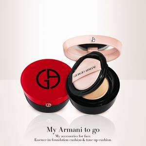 My Armani To Go Essence In Foundation Tone-Up Cushion