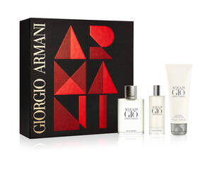 Acqua Di Giò Eau De Toilette men's aftershave Gift Set