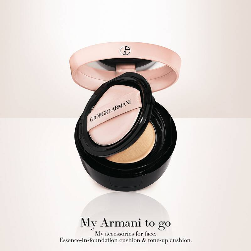 Armani Beauty - My Armani To Go Essence In Foundation Tone-Up Cushion - 3