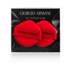 My Armani To Go Cushion Foundation Sponge Duo