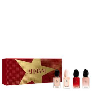 Giorgio Armani Si Iconic Christmas Miniature Set for her