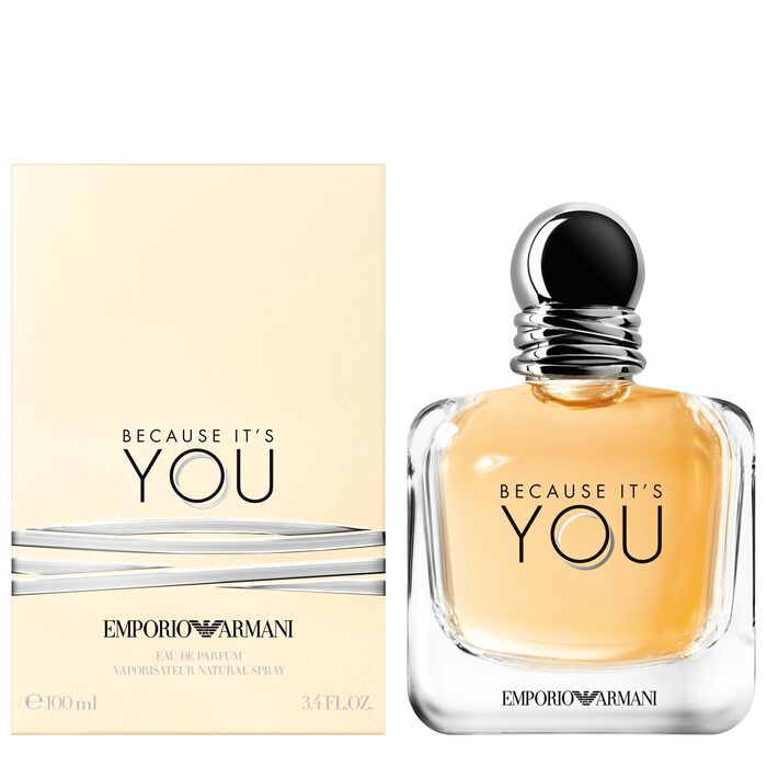 Emporio Armani Because It's You| Perfume for Women ...