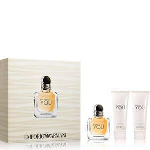 Emporio Armani Because It's You 50ml Gift Set