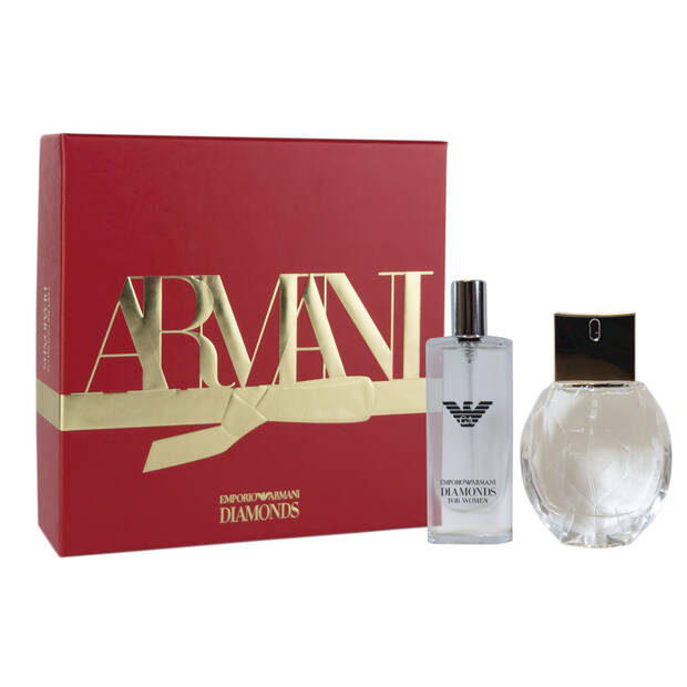 Emporio Armani Diamonds 30ml Eau de Parfum Christmas Gift Set for her