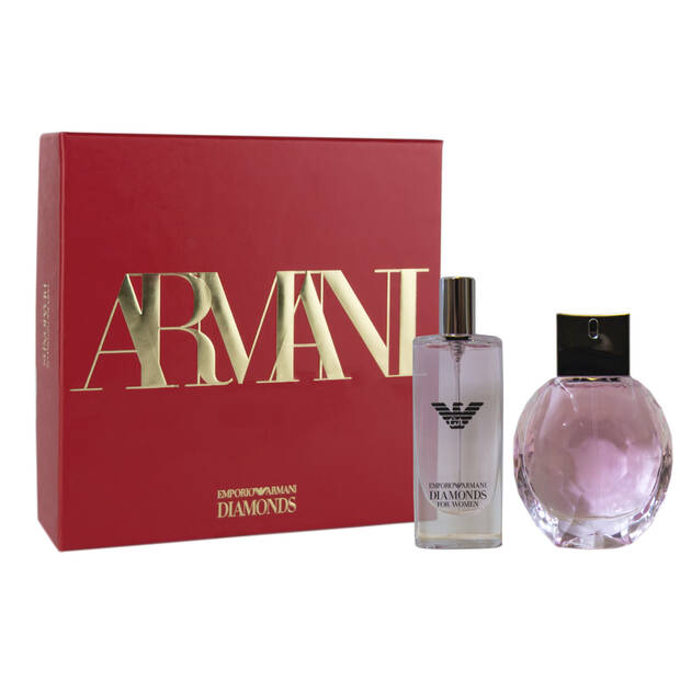 Emporio Armani Diamonds Rose Eau de Parfum Christmas Gift Set for her
