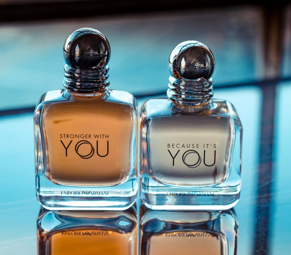 Better With You Stronger With You Men Women Perfume Armani Beauty Uk